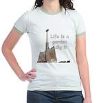 Life is a garden dig it Jr. Ringer T-Shirt