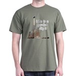 Life is a garden dig it Dark T-Shirt