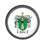 Salazar Coat of Arms Wall Clock