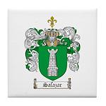 Salazar Coat of Arms Tile Coaster