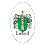 Salazar Coat of Arms Oval Sticker