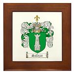 Salazar Coat of Arms Framed Tile