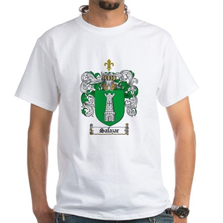 Salazar Coat of Arms White T-Shirt