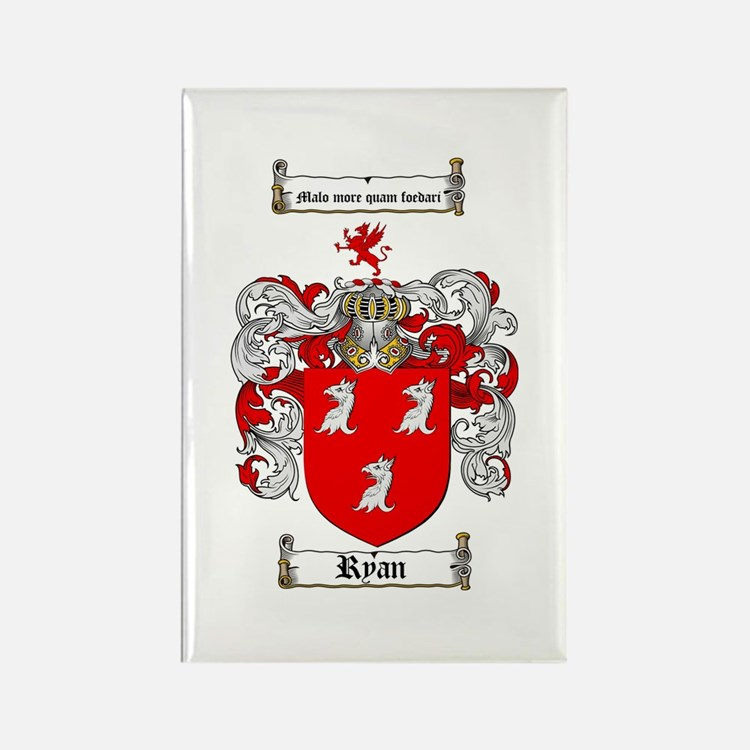 Ryan Coat of Arms Rectangle Magnet (10 pack)