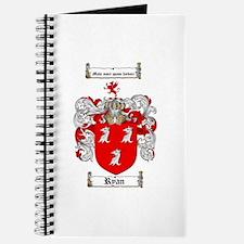 Ryan Coat of Arms Journal