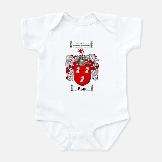 Ryan Coat of Arms Infant Bodysuit