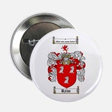 """Ryan Coat of Arms 2.25"""" Button (100 pack)"""