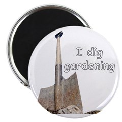 I dig gardening Magnet