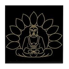 Lotus Buddha Tile Coaster