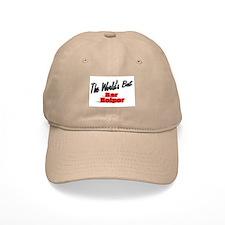 """""""The World's Best Bar Helper"""" Baseball Cap"""