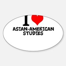 I Love Asian-American Studies Decal
