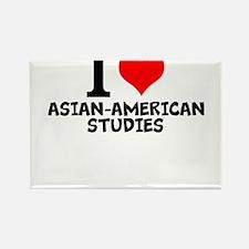 I Love Asian-American Studies Magnets