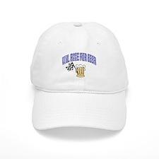 Will Race For Beer Baseball Cap