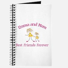 Emma & Mom - Best Friends For Journal