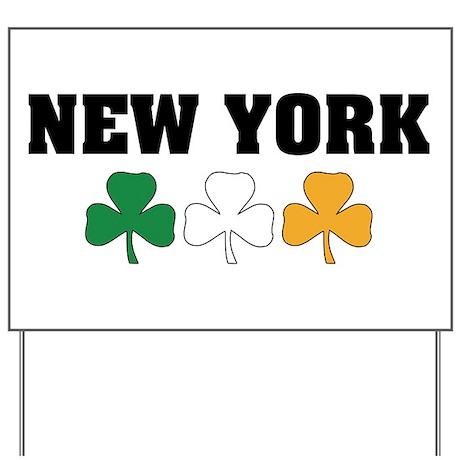 New York Irish Yard Sign