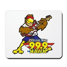 Hawk w/ Guitar Mousepad