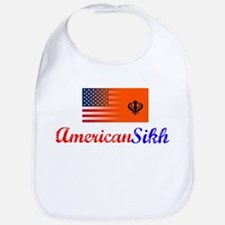 American Sikh Vintage Design Bib