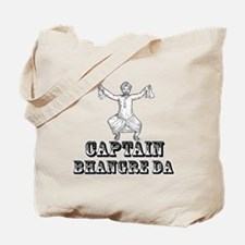 Captain Bhangre Da Tote Bag