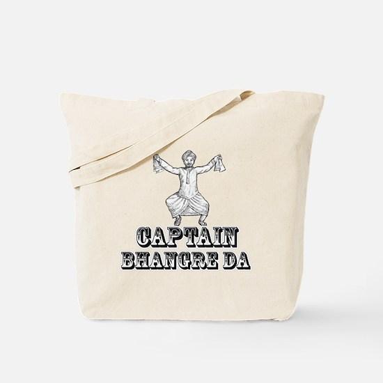 Captain Bhangre Da Tote Bag