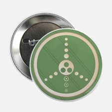 Crop Circle Peace Sign Button