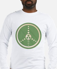 Crop Circle Peace Sign Long Sleeve T-Shirt