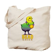 Bead Chick Tote Bag