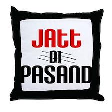 Jatt Di Pasand Throw Pillow
