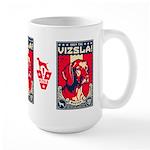 American Vizsla- Obey the V! LARGE Mug