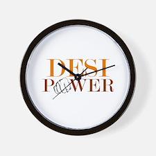Desi FULL Power Wall Clock