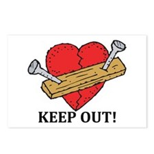 Valentine's Day Keep Out! Postcards (Package of 8)