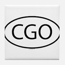 CGO Tile Coaster