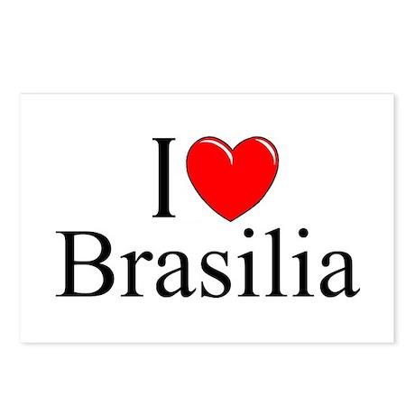 """I Love Brasilia"" Postcards (Package of 8)"