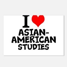 I Love Asian-American Studies Postcards (Package o