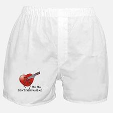 Funny Anti-Valentine's Day Gi Boxer Shorts