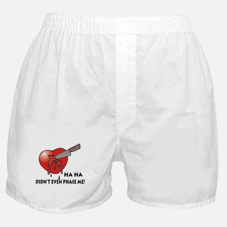 Funny Anti-Valentine's Day Gi Boxer Shorts