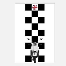 UK SCOOTER MODS Postcards (Package of 8)