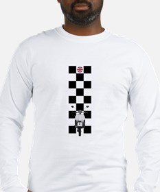UK SCOOTER MODS Long Sleeve T-Shirt