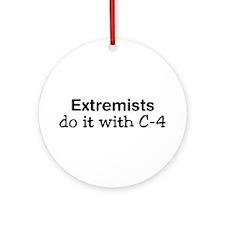 Extremist Ornament (Round)
