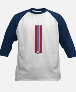 RED BLUE STRIPES Tee