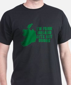 FUNNY IRISH SHIRT IRELAND DRI T-Shirt