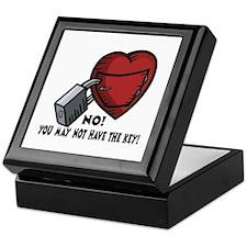 Valentine's Key to Heart Keepsake Box