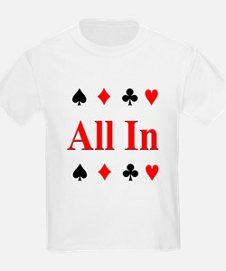 The Texas Holdem Poker Store Kids T-Shirt