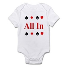 The Texas Holdem Poker Store Infant Creeper