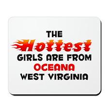 Hot Girls: Oceana, WV Mousepad