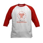 Pink Future Republican Elephant Kids Baseball Jers
