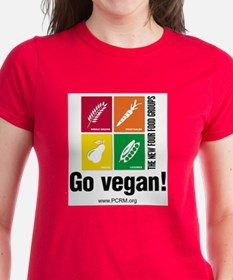 New Four Food Groups Tee