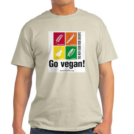 New Four Food Groups Light T-Shirt