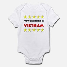I'm Worshiped In Vietnam Infant Bodysuit