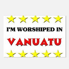 I'm Worshiped In Vanuatu Postcards (Package of 8)