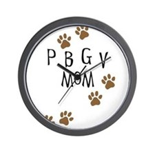 PBGV Mom Wall Clock